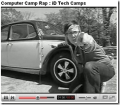 iD Tech summer camp rap video