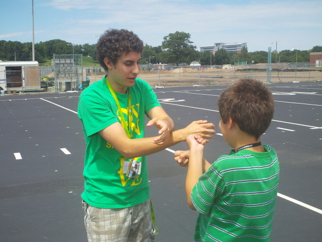 iD Tech Camps held at Purdue University bring on the secret camp handshake.