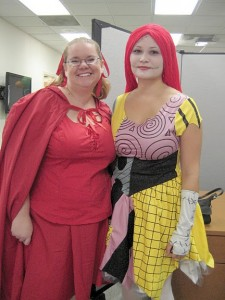 Red Riding Hood, and Sally from The Nightmare Before Christmas