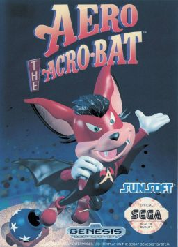 Aero the Acro Bat (Video Game)