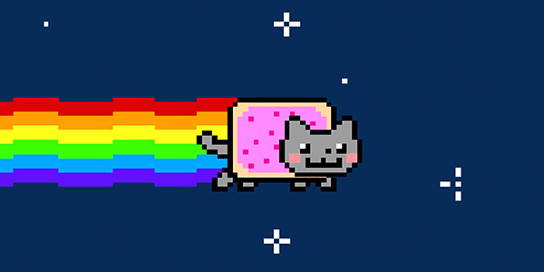 Nyan Cat Fly Contest