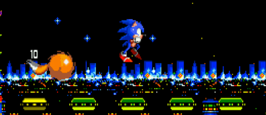 Sonic the Hedgehog Screenshot Platform Game Design