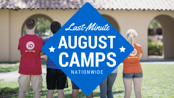 August Summer Camps Header