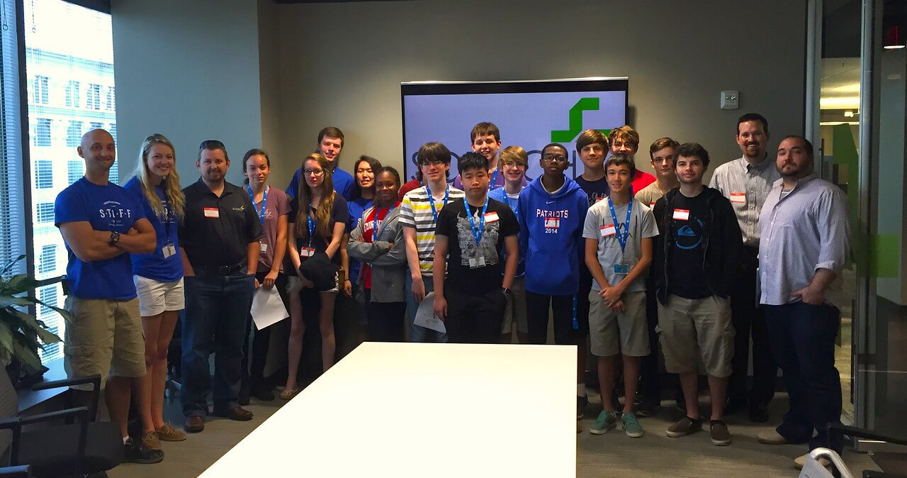iD Programming Academy students gain tech industry insights at Soltech.