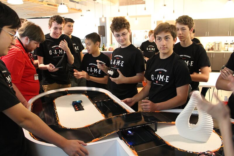 iD Game Design & Development Academy students gain gaming industry insights at Anki.