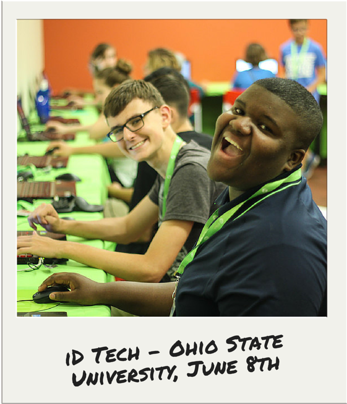 iD Tech Campers at Ohio State