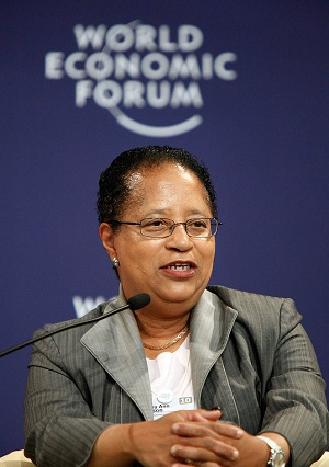 Shirley Ann Jackson speaks at the Annual Meeting of the Champions in 2010. Image courtesy of World Economic Forum.