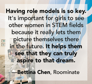 Bettina Chen Industry Leaders Girls in STEM