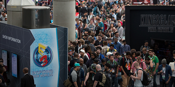 E3 2016 Convention Floor