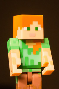 alex, female, minecraft, character, girls
