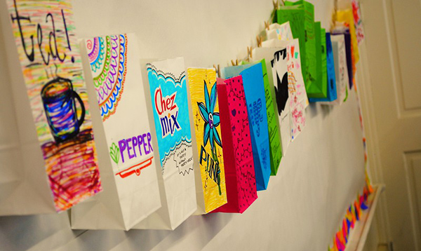 Colorful Crafts at Camp