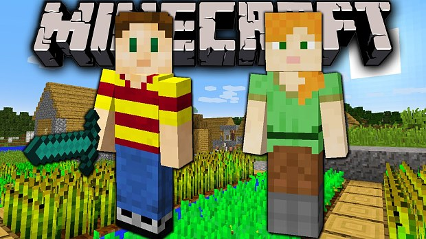 minecraft, characters, girl