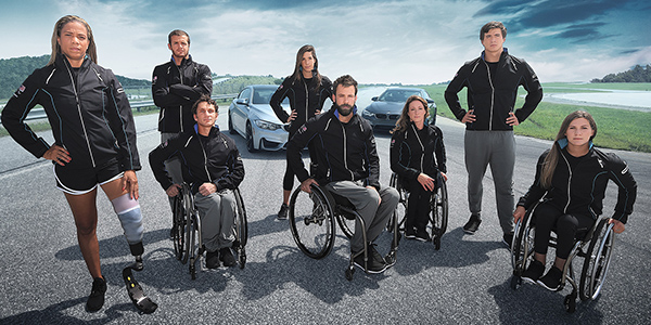 2016 BMW Paralympic Team