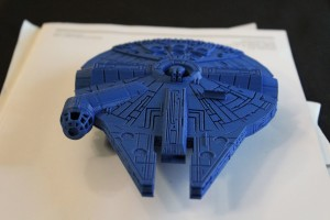 star wars, millennium falcon, model, 3d print